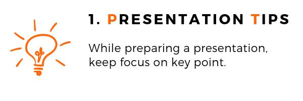 General Presentation Topics Tips