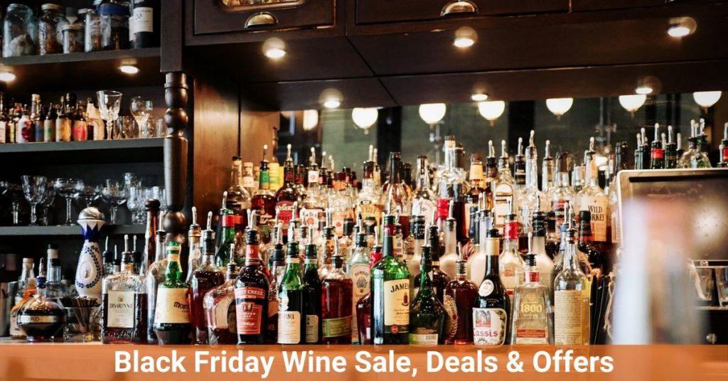 black Friday wine sale