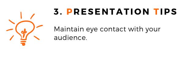 General Presentation Topic Tips